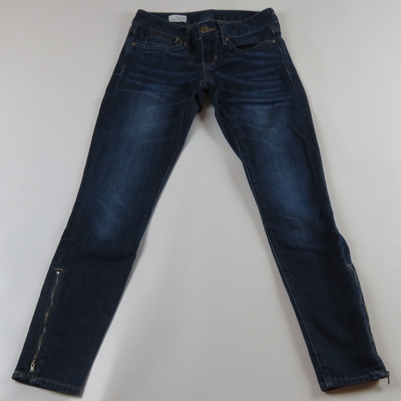 GAP Denim - GAP 1969 Always Skinny Zipper Ankles Jeans